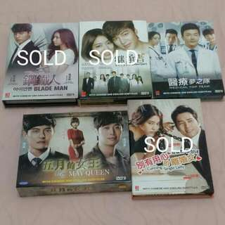 📀Korean Drama DVD List 3