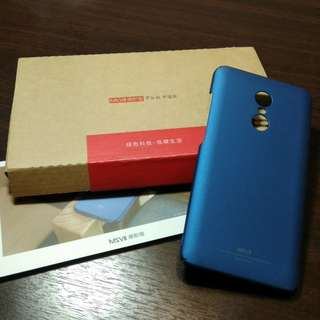Redmi Note 4 Premium Casing (with free tempered glass)