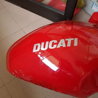 ducati monster fuel tank