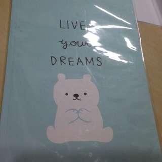 🚚 北極熊空白筆記本32K