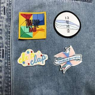 SEVENTEEN Iron-On Patches!