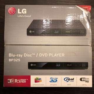 BNIB LG Blueray DVD Player BP325
