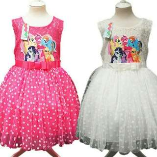 My little pony lace dress
