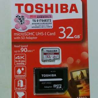[NEW] Toshiba MicroSD Card with Adapter