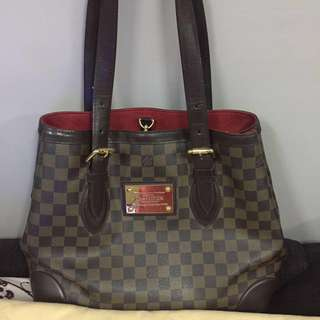 Authentic LV Hampstead MM