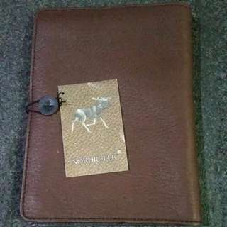 Brand New Stylish Jim Thomson Nordic Elk Genuine Leather Notebook Note Pad