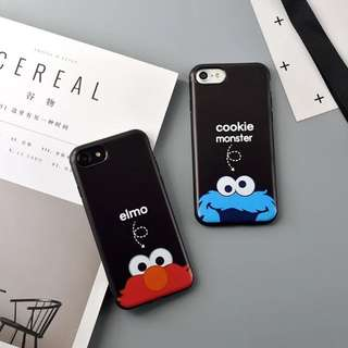 Casing Iphone 6/6s Elmo & Cookie Monster