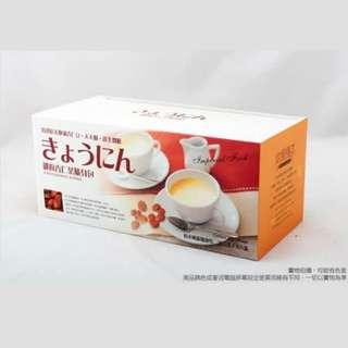 【御廚膳品】潤喉杏仁茶600g (無糖口味,隨身包30入)