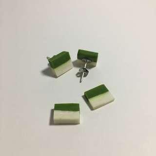 Kueh Puteri Salat Earrings