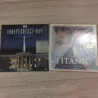 Independence Day & Titanic Movies
