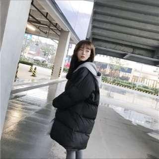 長版保暖厚外套
