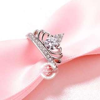 Zircon Crown Ring
