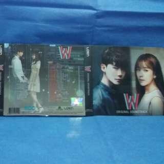 (韓版)W-兩個世界OST(李鐘碩,韓孝周主演)