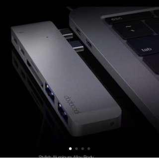 dodocool Hyperdrive 6in1 USB C Hub Adapter