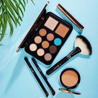 bhCosmetics Bronze Paradise - Eyeshadow, Bronzer & Highlighter Palette