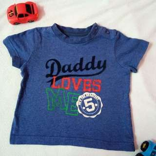 mothercare tee 3-6m