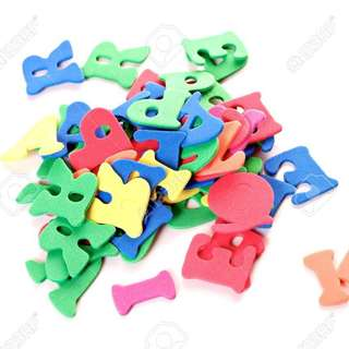 Vowel Letters for scrapbooks
