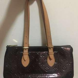 Authentic Louis Vuitton Rosewood Vernis handbag