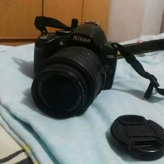 Nikon D3000( Preloved) #midjan55