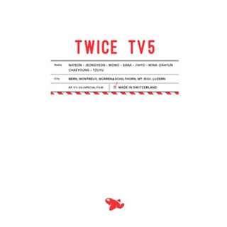 [PREORDER] TWICE - TWICE TV5 TWICE In Switzerland DVD