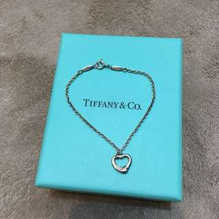 Tiffany & Co. Open Heart手鍊