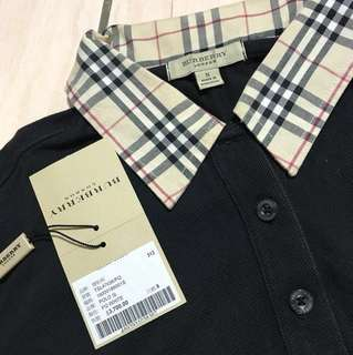 Burberry polo衫(正品)