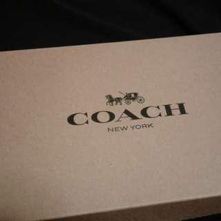 正品名牌 COACH 頸巾