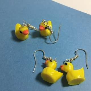 Plastic Ducks Earrings