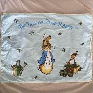 0/3 baby peter rabbit pillow case
