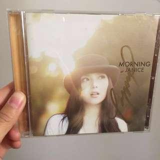 衛蘭 Janice Morning 親筆簽名 絕版大碟