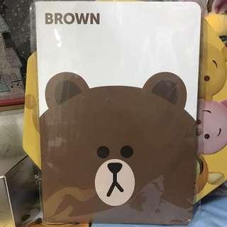 Line熊大筆記簿