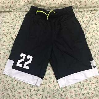 Nike 燙字22號黑色球褲