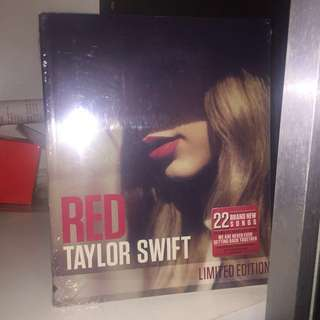 Taylor Swift Red 限量特別版 絕版