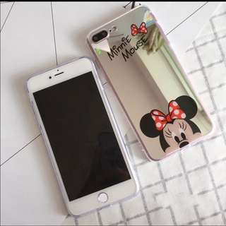 Minnie Mouse Mirror Casing iPhone 6/6s