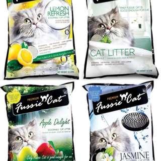 Fussie Cat Litter 10L