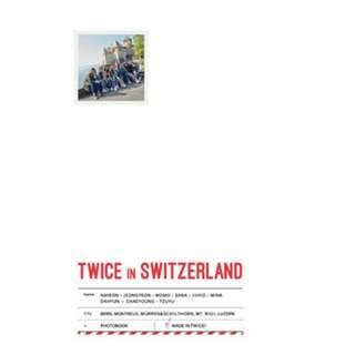 [PREORDER] TWICE - TWICE TV5 TWICE In Switzerland Photobook