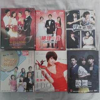 Korean Drama DVD List 7 #Contiki2018