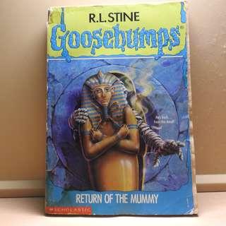 Goosebump Return of the Mummy