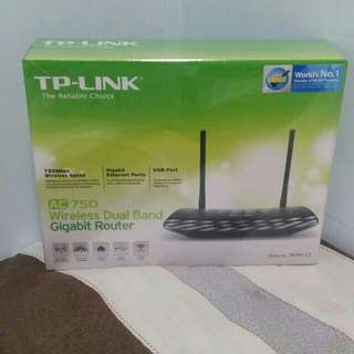 TP-Link wifi Archer C2 (AC750 Wireless Dual Band Gigabit Router)