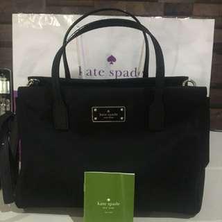 Kate Spade Black Avenue Small Loden Satchel Original