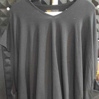 Y3 長款hoodie Tee Shirt