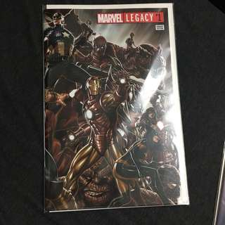 Marvel Legacy 1 Comics Book Avengers Movie Stan Lee