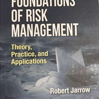 Foundations of risk Management