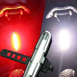 Bicycle / Strider / Balance Bike Led (White & Red) USB Charge