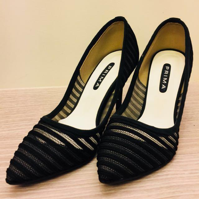 韓系時尚名媛高根鞋(尺寸24.5)