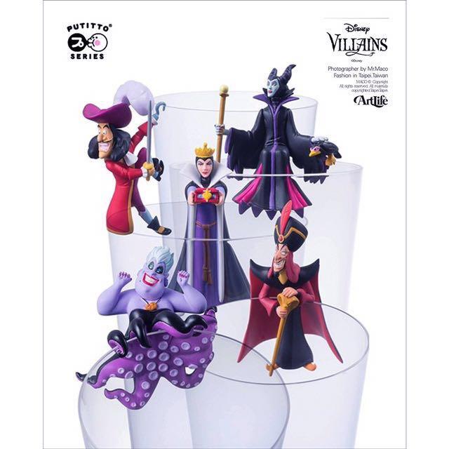 迪士尼壞人反派角色杯緣子(全套799)