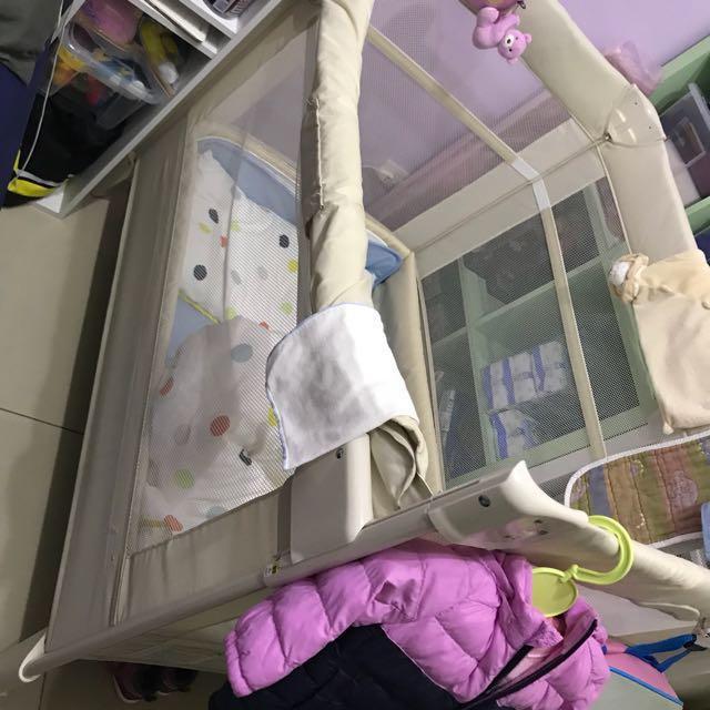 嬰兒床遊戲床(免運)