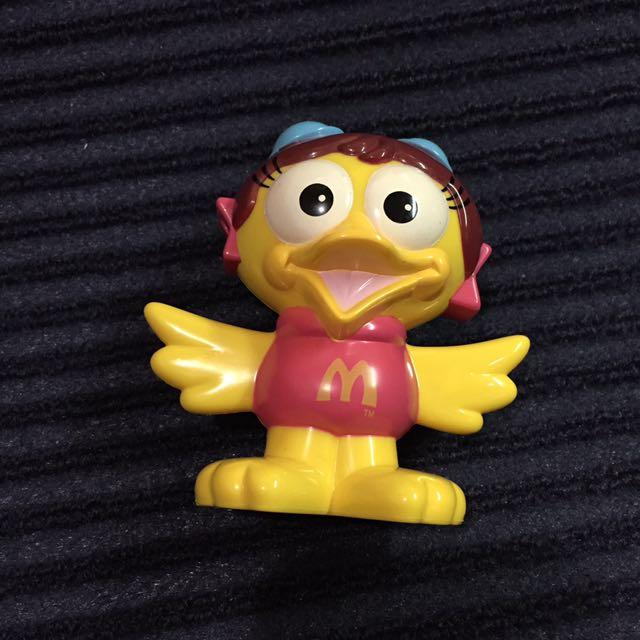 麥當勞絕版玩具 大鳥姐姐