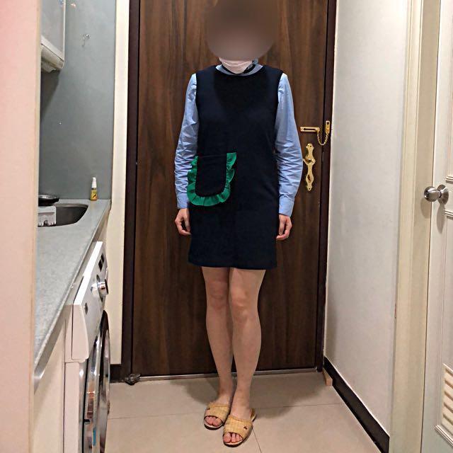 [購於韓貨店] 甜美背心裙