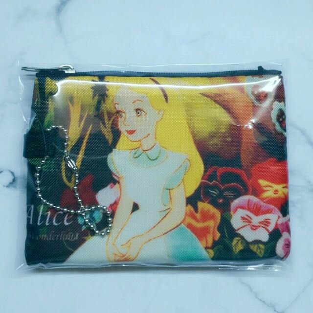 迪士尼 愛麗絲夢遊仙境 妙妙貓 零錢包